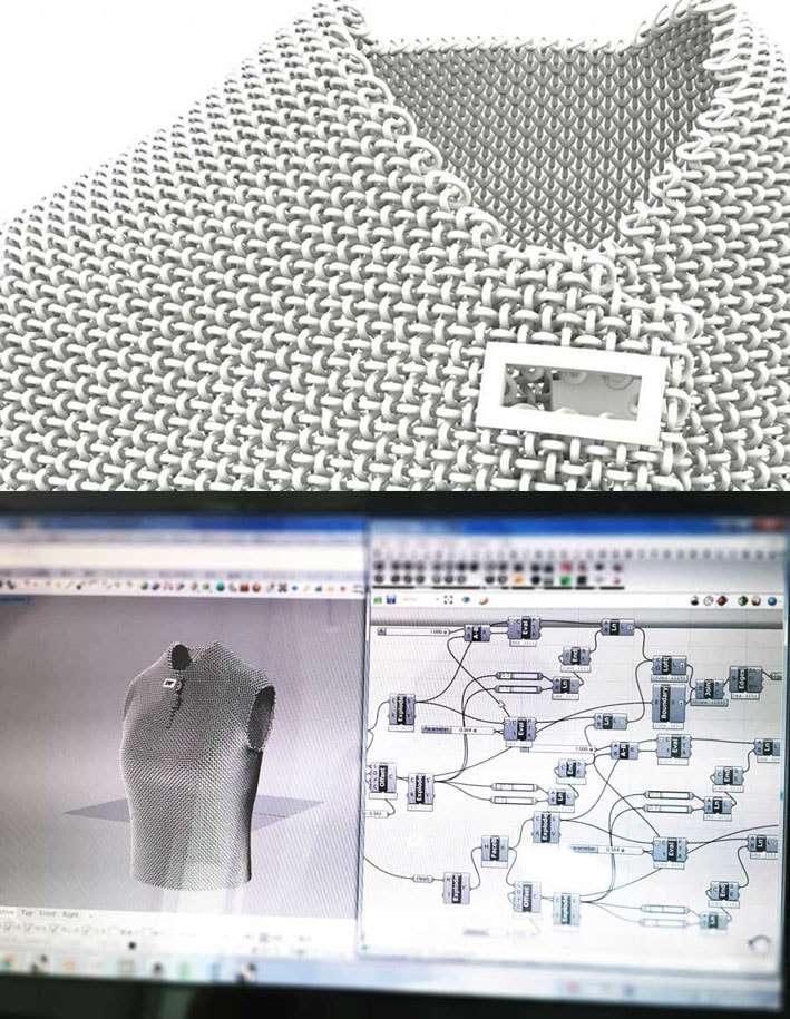 AMIMONO : O primeiro material elástico de impressão 3D que simula tricô stylo urbano