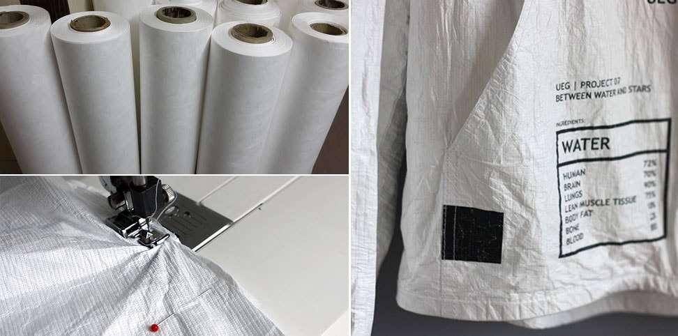 Tyvek 1443RT: O material impermeável, leve, indestrutível e reciclável perfeito para moda e design stylo urbano-1
