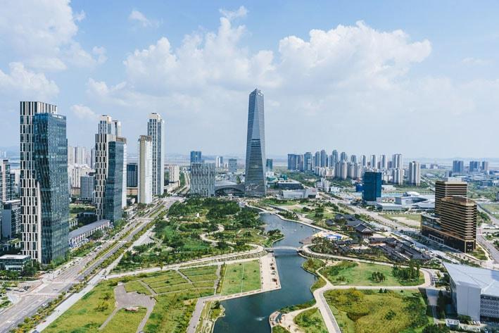 Songdo: A primeira cidade inteligente e sustentável do mundo stylo urbano