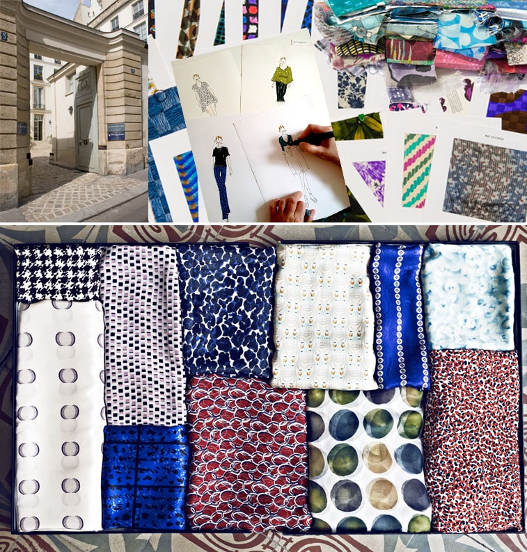 Charlotte Bialas cria coleções upcycling de tecidos estampados vintage dos anos 60/70 stylo urbano-1