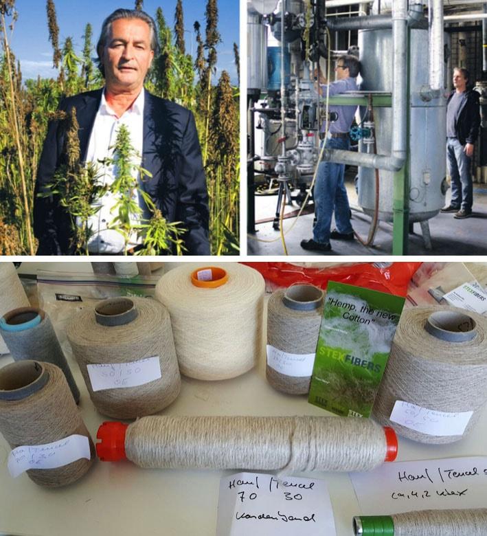 StexFibers: Fibras de cânhamo para tecidos sustentáveis de alta qualidade stylo urbano