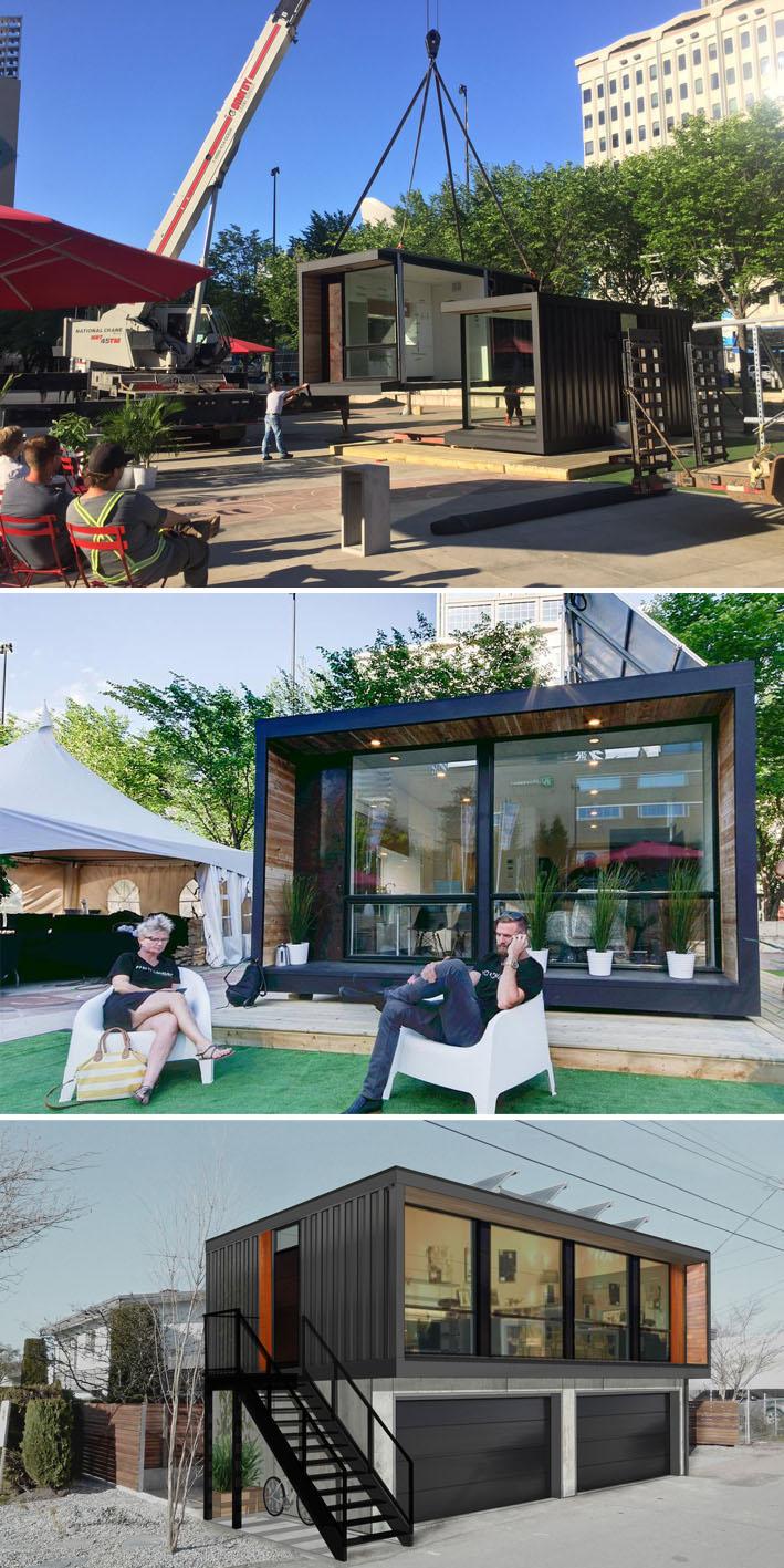 O futuro da habitação : Casas modulares pré-fabricadas stylo urbano-2