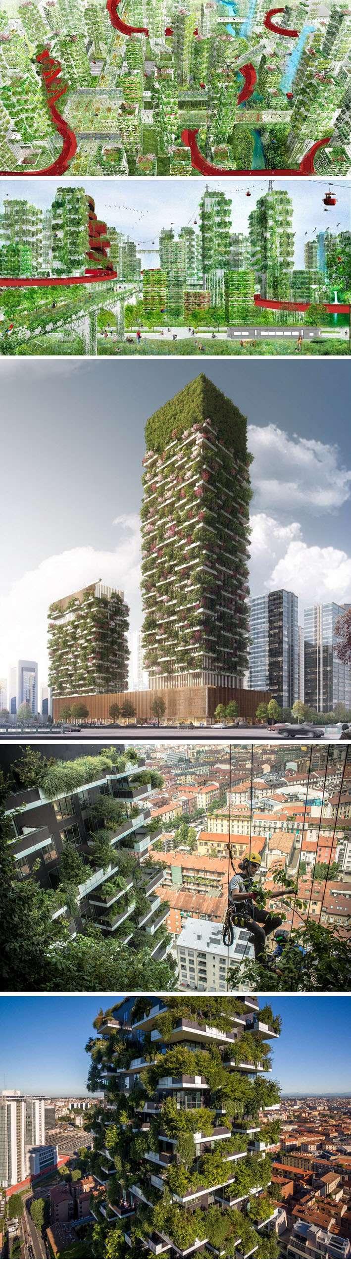 """China planeja construir a primeira """"Cidade Floresta"""" do mundo para lutar contra a poluição stylo urbano"""