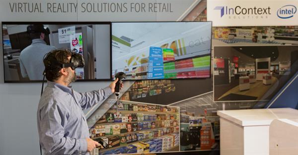 Nova plataforma de varejo Intel: Loja de tricô 3D, realidade virtual e robôs para gerir o estoque stylo urbano