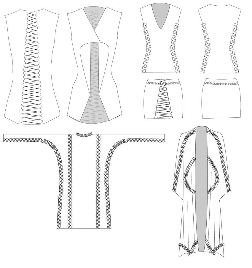 Arquiteta Anastasia Pistofidou criar roupas sem costura através de fabricação digital stylo urbano-2