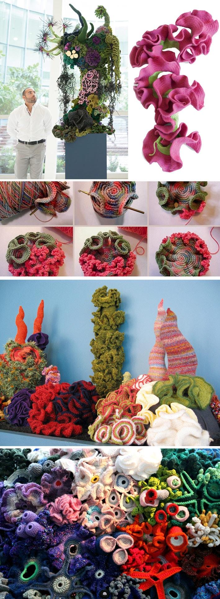 Conheça omaior projeto de arte comunitária do mundo que une matemática, biologia marinha e crochê stylo urbano-3