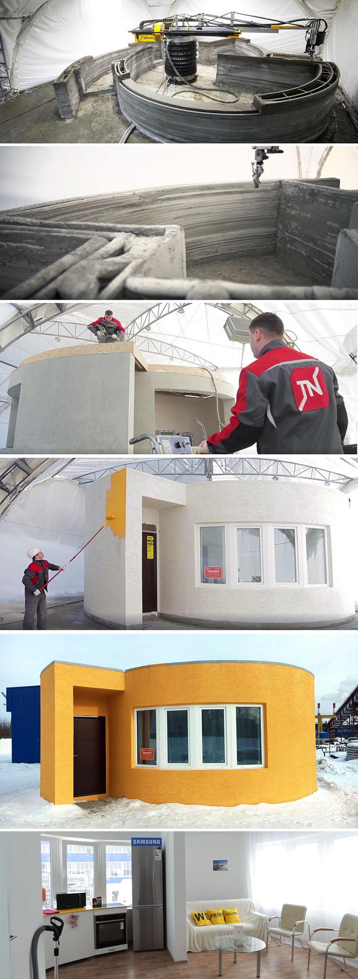 Empresa cria impressora 3D revolucionária que imprime uma casa inteira em 24 horas stylo urbano