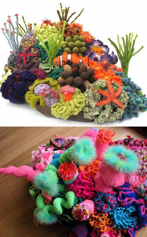 Conheça omaior projeto de arte comunitária do mundo que une matemática, biologia marinha e crochê stylo urbano-1