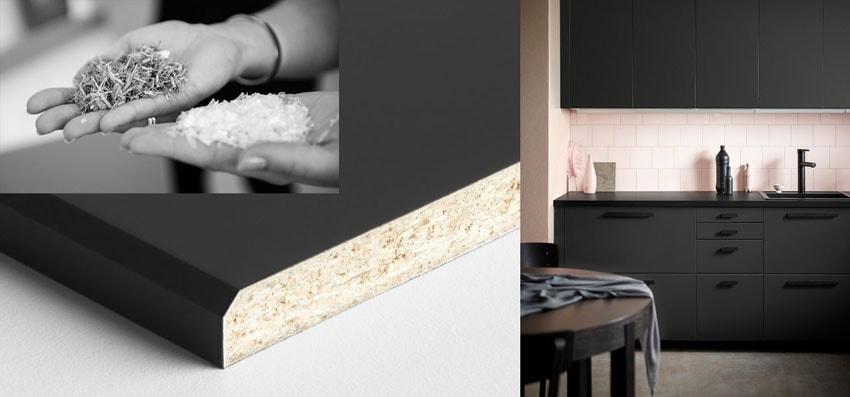Ikea lança nova cozinha sustentável feita de madeira e garrafas PET reciclados stylo urbano