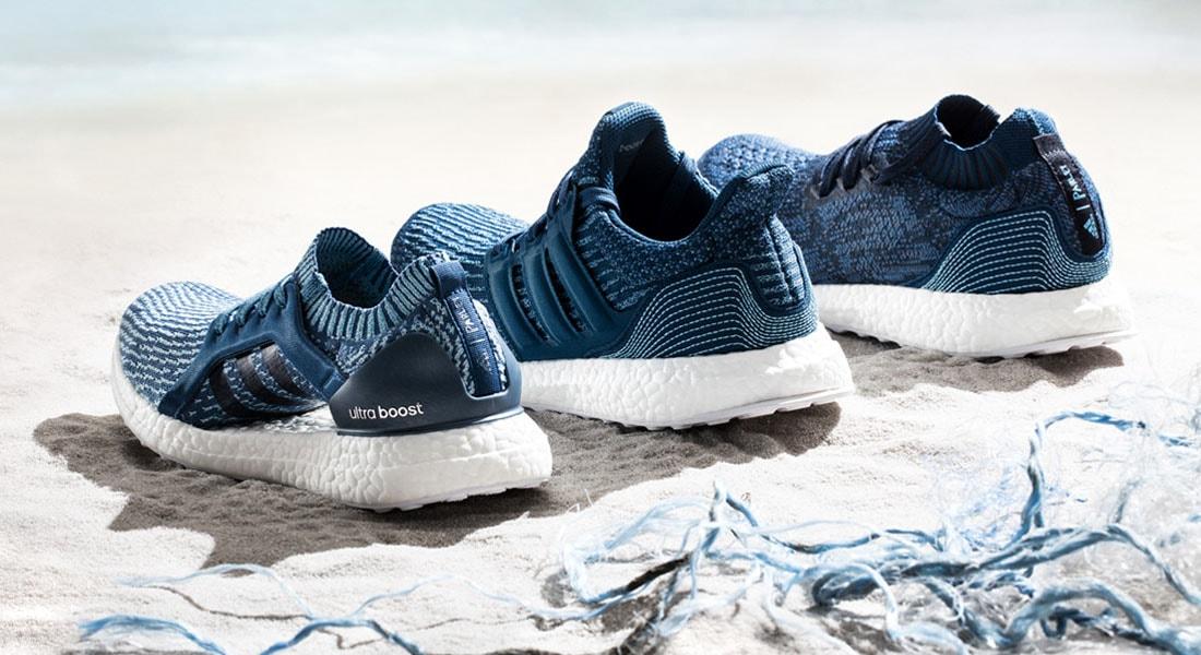 2ec9d506a6f Adidas X Parley lança 3 novos modelos de tênis feitos dos resíduos  plásticos retirados do Oceano