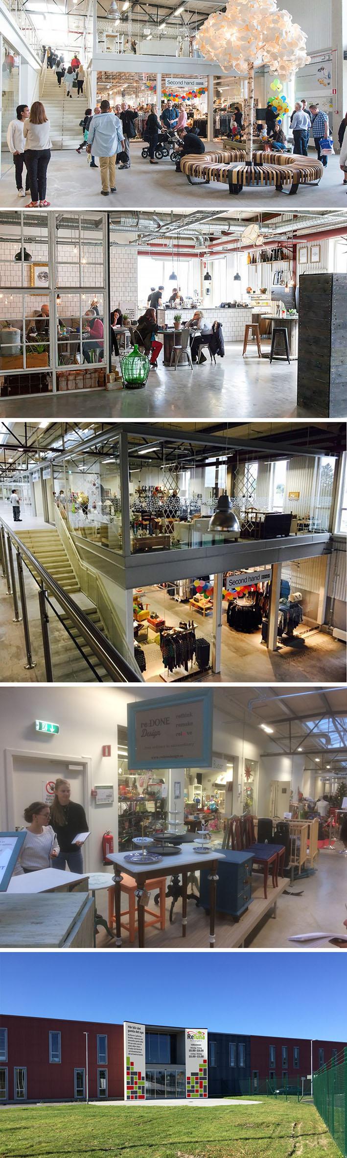 Suécia inaugura o primeiro shopping do mundo dedicado a produtos upcycling e reciclados stylo urbano