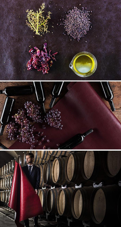 WineLeather: o primeiro couro vegetal derivado dos resíduos do vinho stylo urbano-2