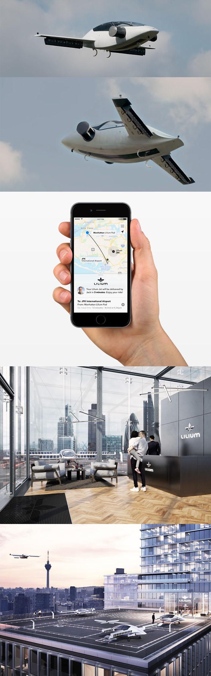 Lilium, o táxi aéreo para deslocamento diário nas cidades sem poluição stylo urbano