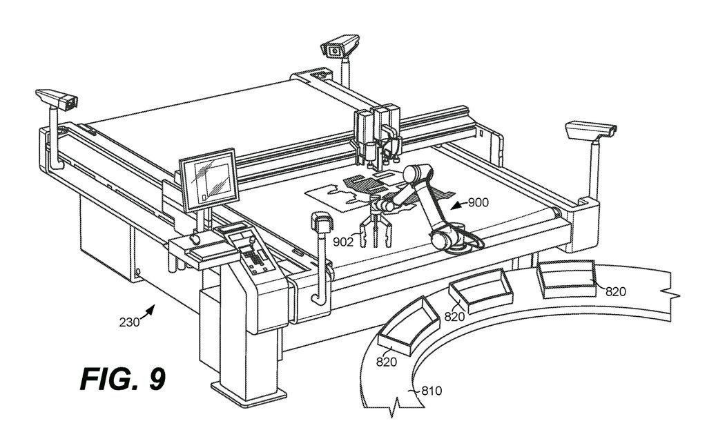 Amazon patenteou o projeto de sua fábrica automatizada de roupas sob demanda stylo urbano-4