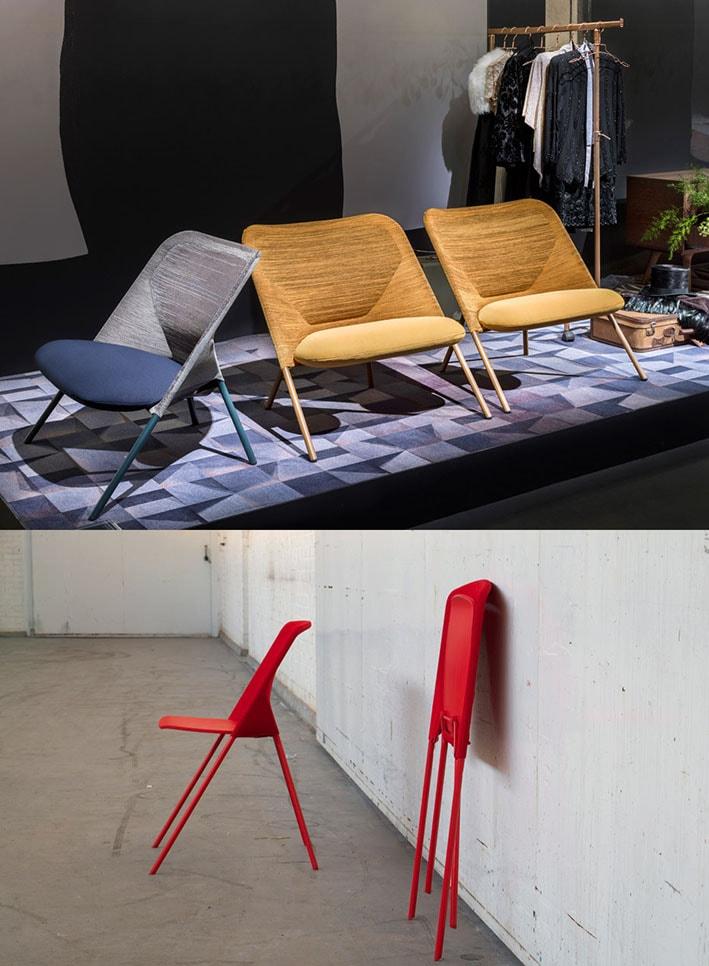 Designers criam móveis modernos com tecnologia de tricô 3D stylo urbano-1