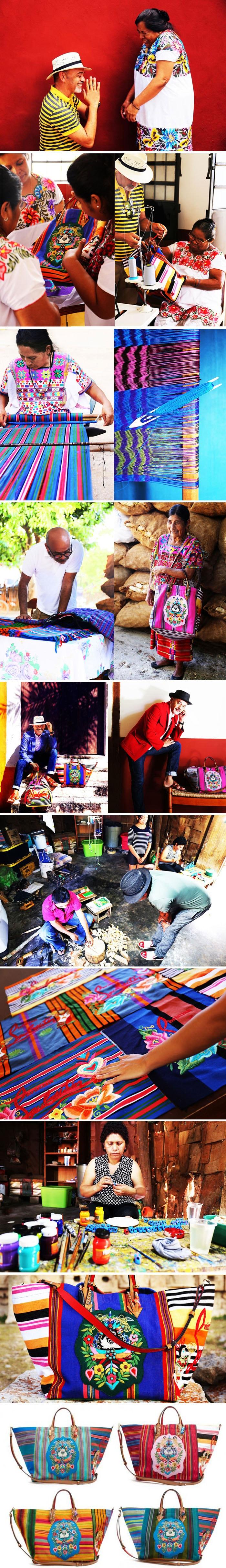 The Mexicaba : a fusão entre o vibrante artesanato maia e Cristian Louboutin stylo urbano