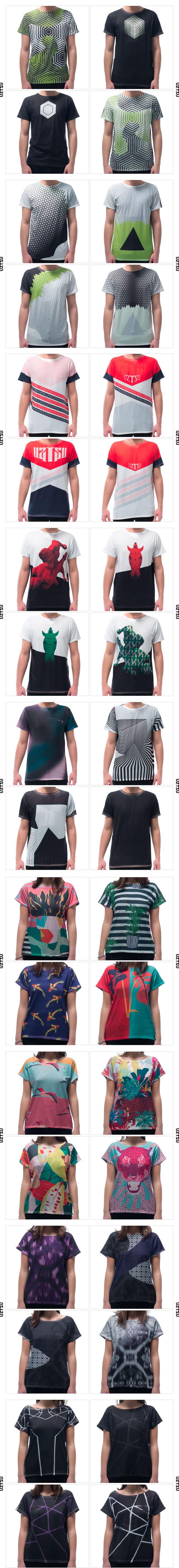 Moda Reversível : a camiseta Uztzu pode ser usada de 4 maneiras diferentes stylo urbano-2