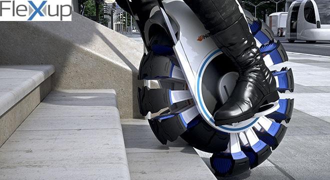 O projeto Design Innovation mostra o futuro do transporte através dos pneus stylo urbano-2