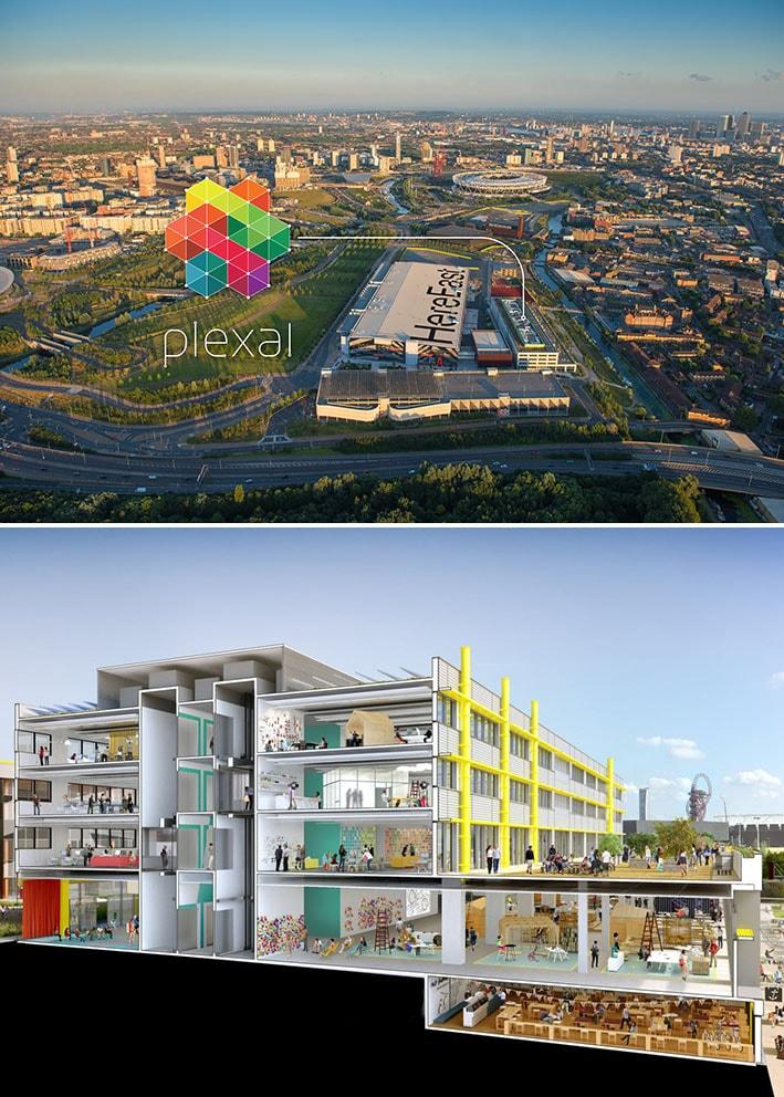Plexal : o maior centro de inovação em moda, saúde, esporte e tecnologia da Europa stylo urbano