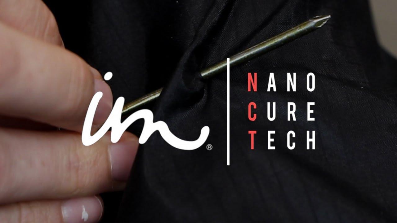 Esta jaqueta pode reparar seu próprio tecido com a tecnologia Nano Cure Tech stylo urbano