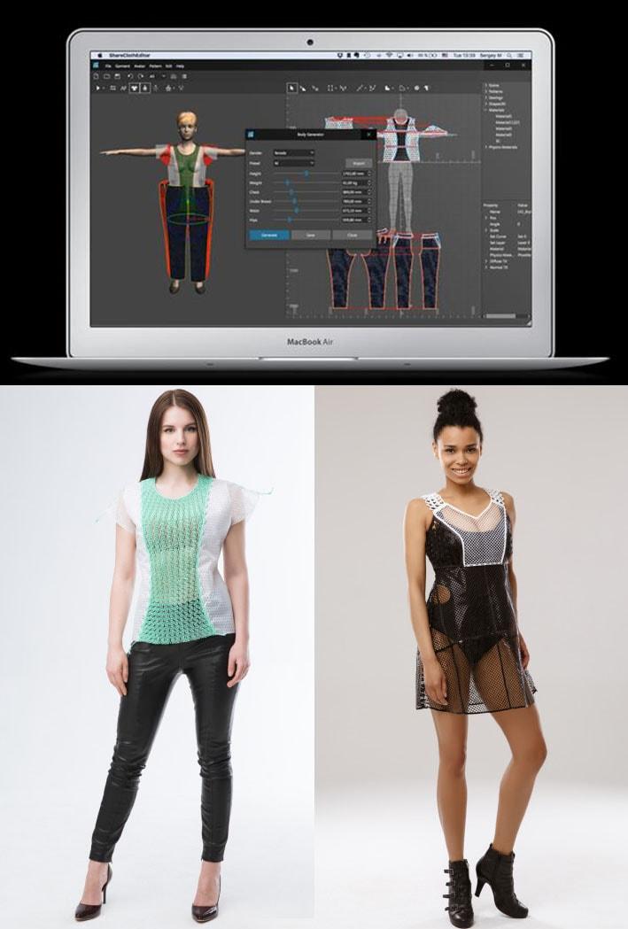 Share Cloth lança software de design de moda para trazer a impressão 3D ao varejo stylo urbano-1