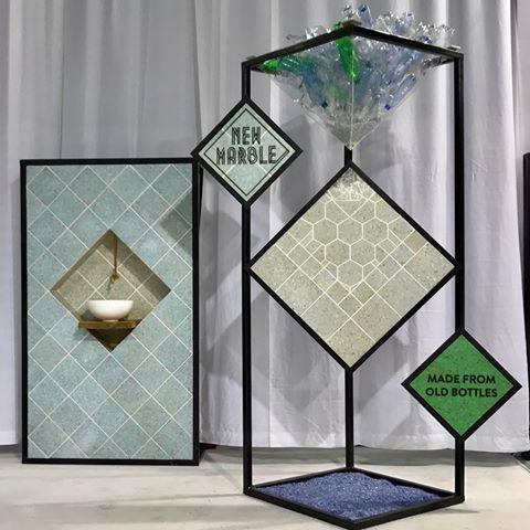 Better Future Factory transforma os resíduos de plástico em um novo mármore decorativo - 1