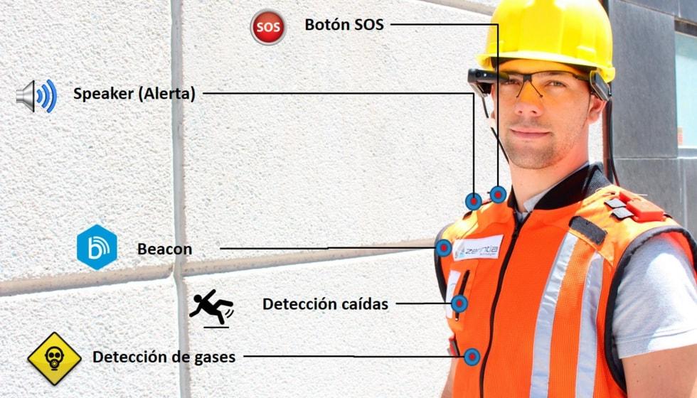 Colete inteligente Smart Vest reduz acidentes de trabalho em 30% stylo urbano