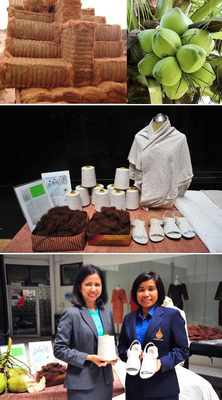 Pesquisadoras tailandesas transformam fibra de coco verde em tecidos funcionais stylo urbano-2