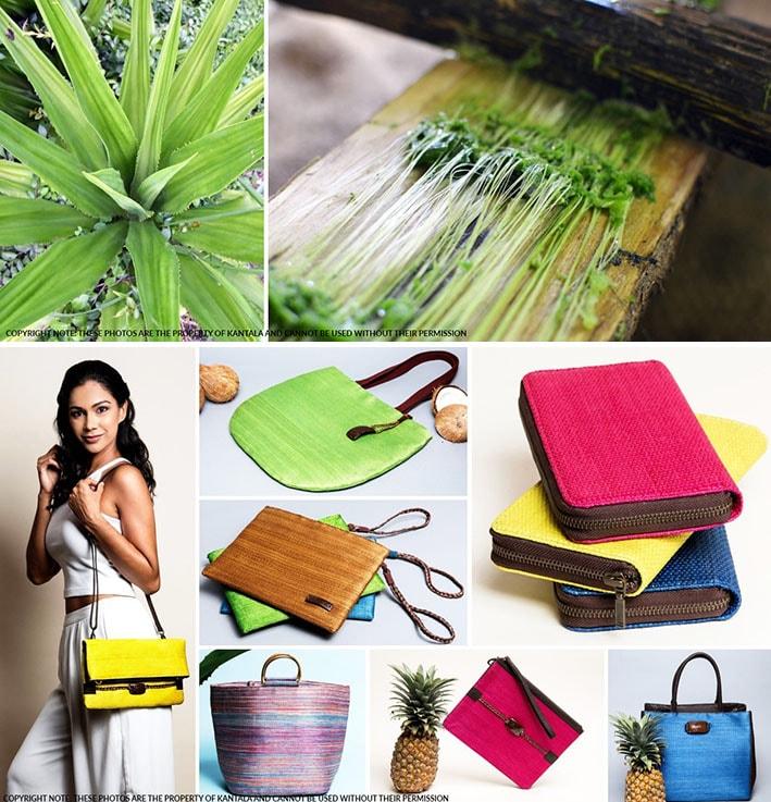 Marca de moda ética Kantala cria belos acessórios artesanais com fibras sustentáveis stylo urbano