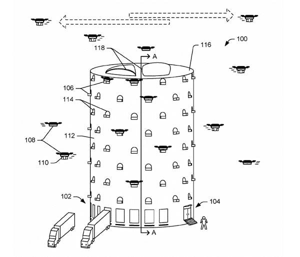 "Amazon quer criar enormes ""colmeias"" para drones de entrega nas grandes cidades stylo urbano -1"