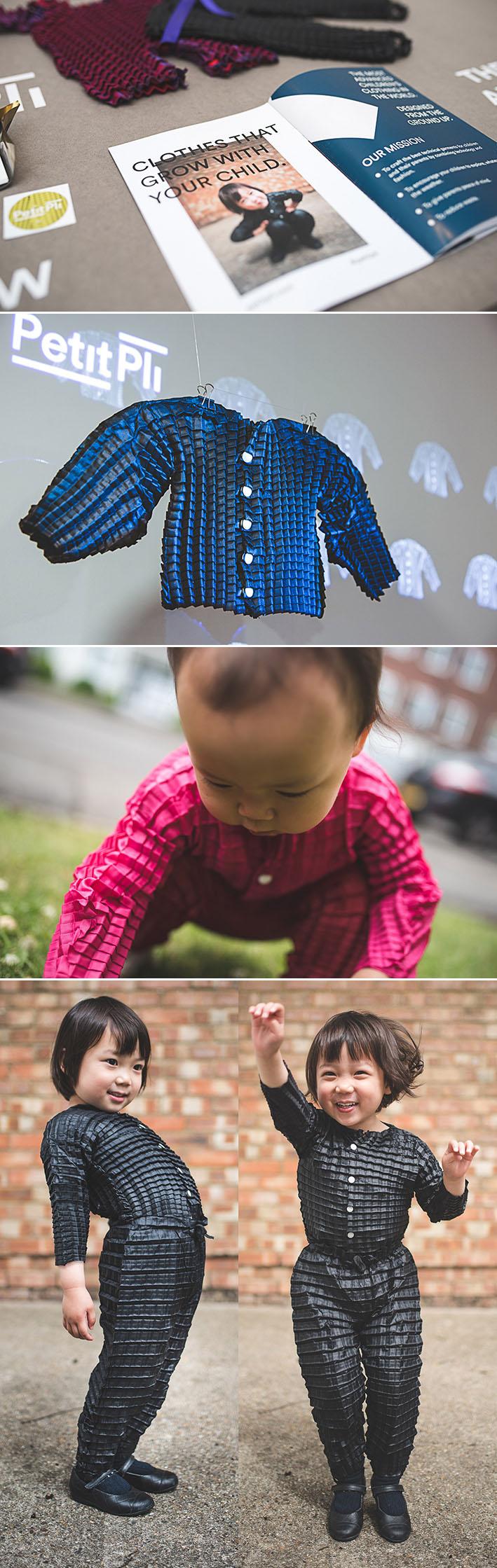 Petit Pli : linha de roupa infantil que se ajusta ao crescimento das crianças stylo urbano