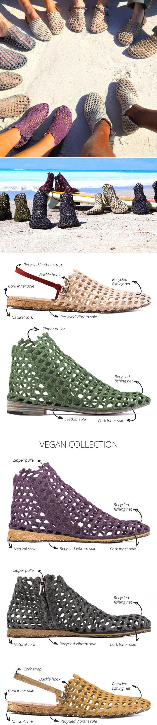 Verdura, os sapatos ecológicos feitos de rede de pesca recuperados stylo urbano-1