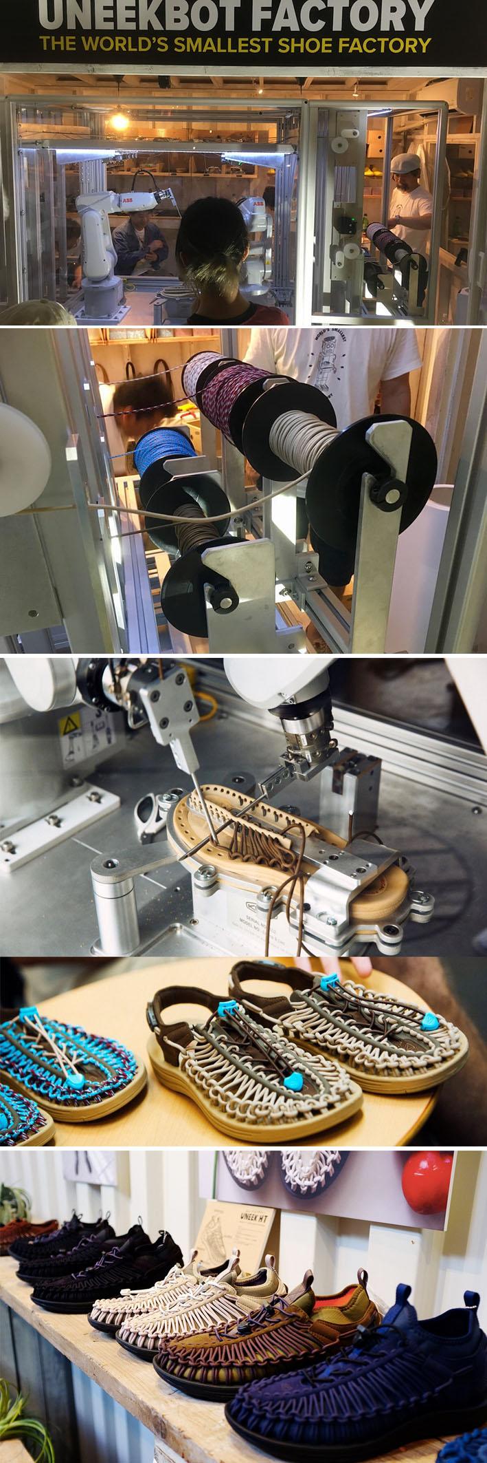 Na loja do futuro Uneekbot Factory, dois robôs fabricam sapatos sob demanda em seis minutos stylo urbano