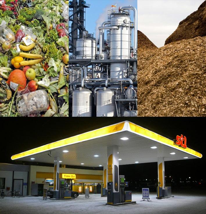 Finlândia lidera na fabricação de bioetanol a partir de resíduos de alimentos e madeira stylo urbano