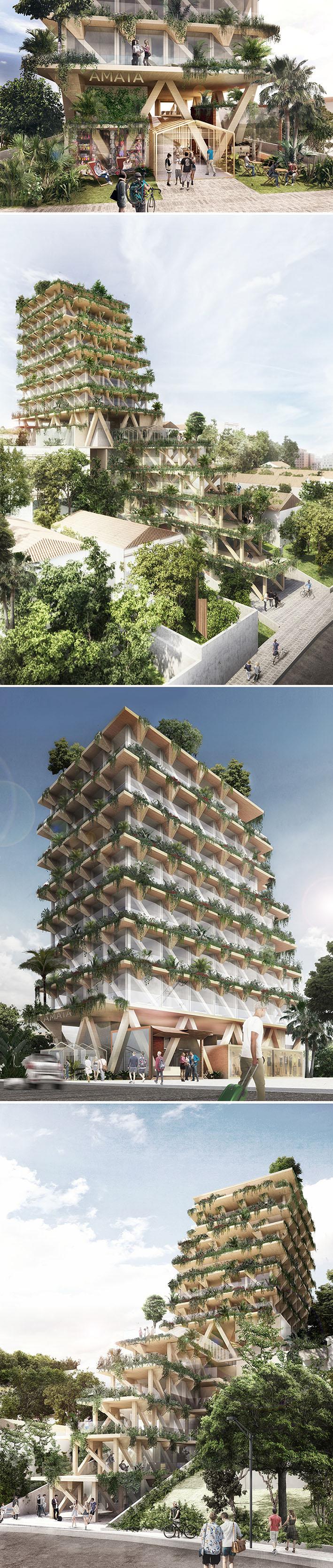 São Paulo ganhará o primeiro edifício de madeira do Brasil que absorve CO2 stylo urbano