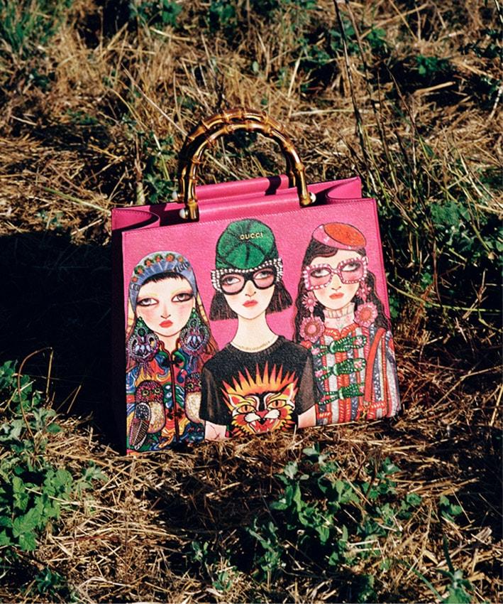 Gucci e Unskilled Workerunem moda e arte numa vibrantecoleção cápsula stylo urbano
