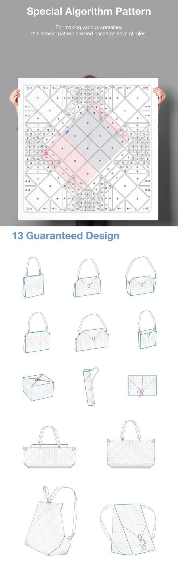 Modibag : a bolsa origami que se transforma em 13 modelos diferentes stylo urbano