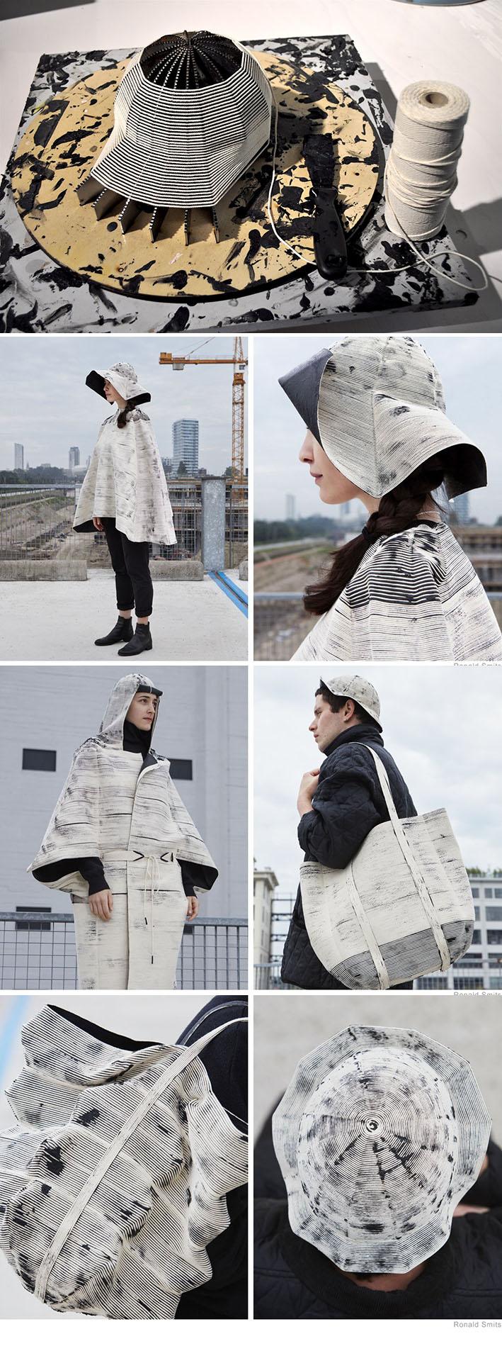 Regen : linha de vestuário impermeável feita sem sertecida, tricotada ou costurada  stylo urbano