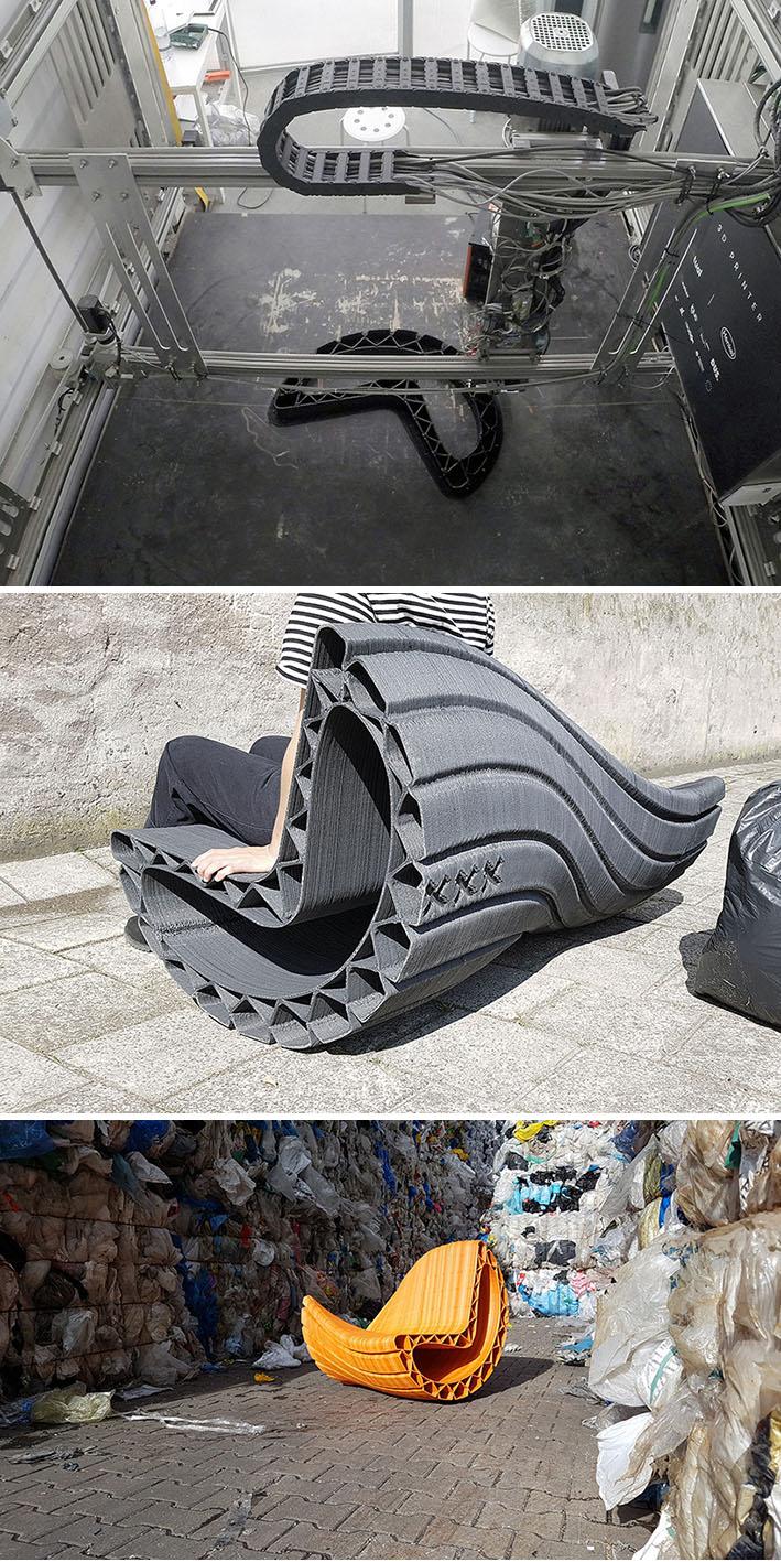 """Projeto """"Print Your City!"""" utiliza impressão 3Dpara transformar resíduos plásticos emmobiliário urbano stylo urbano"""