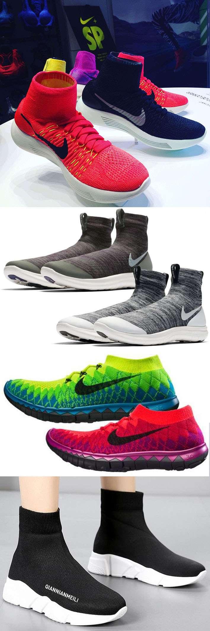 Com seu design híbrido, o tênis-meia é a maior tendência na indústria de calçados stylo urbano