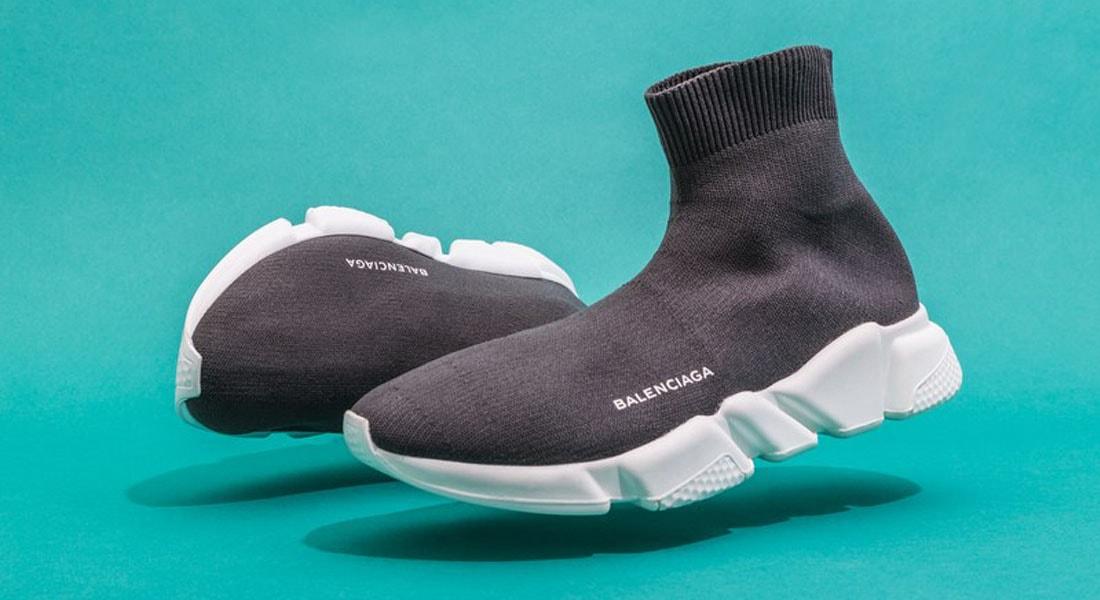 d313e9289e70f Com seu design híbrido, o tênis meia é a maior tendência na indústria de  calçados