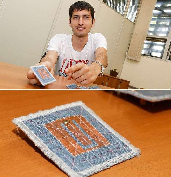 Pesquisadores da USP criaram uma antena têxtil que pode ser vestida stylo urbano