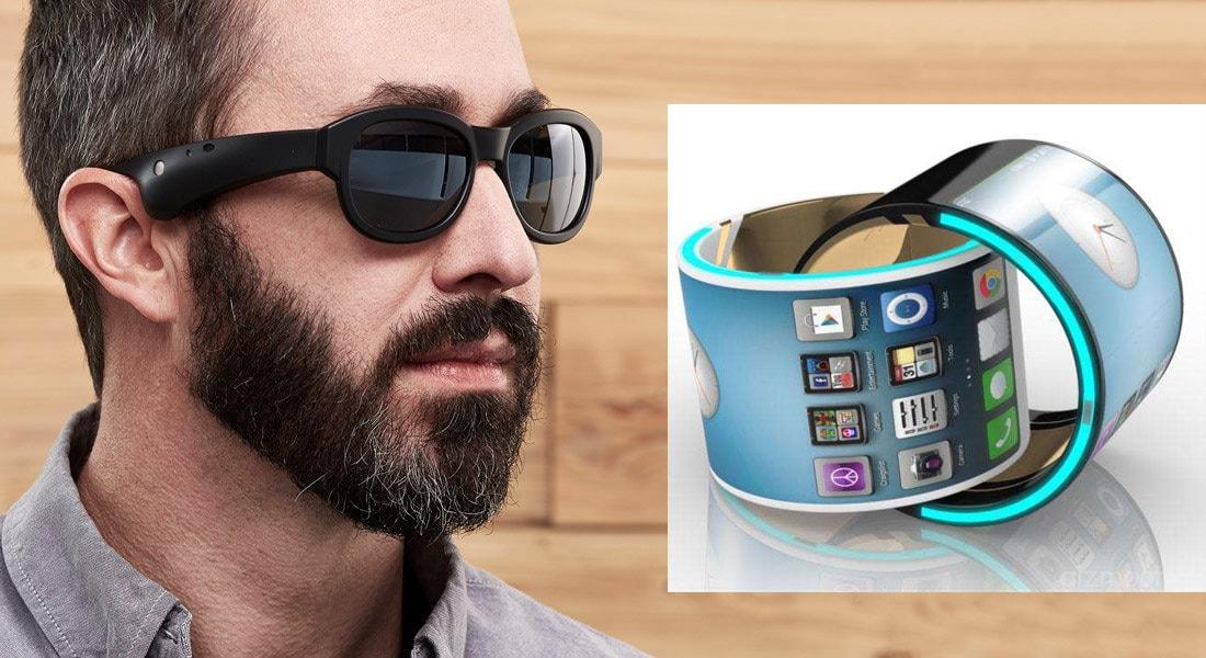 c81d61bea O smartphone está evoluindo para wearables de moda como braceletes e óculos  RA